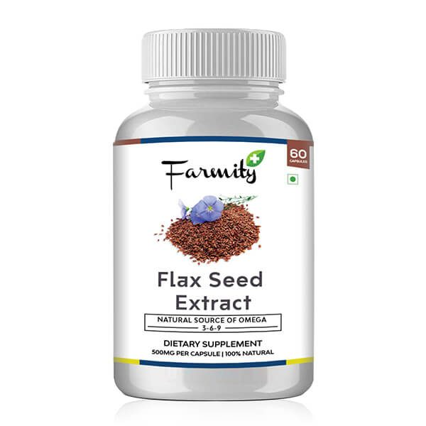 Buy Flaxseed Capsules | Flaxseed Oil Capsules online in india | best price